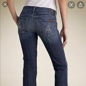 Seven for all mankind A jeans